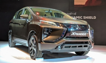 MPV 7 chỗ Mitsubishi Xpander 2018 chính thức ra mắt tại Việt Nam, giá bán từ 550 triệu đồng