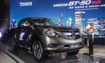 Mazda BT-50 2018 ra mắt với nhiều nâng cấp mới kèm giá bán từ 655 triệu đồng