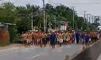 Hơn 100 học viên thoát khỏi cơ sở cai nghiện ma túy, tràn ra đường