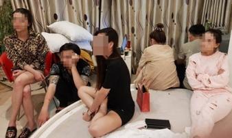 Tiệc ma túy trong khách sạn của dân chơi Sài Gòn