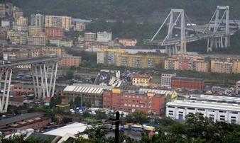 Italia: Ít nhất 22 người thiệt mạng trong vụ sập cầu