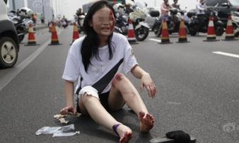 Trung Quốc: Tài xế xe điên đâm chết 6 người, làm bị thương 12 người do mâu thuẫn tình cảm