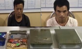 Lại bắt giữ đối tượng buôn ma túy 'khủng' tại Loóng Luông