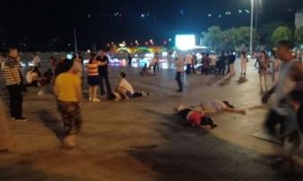 Đâm xe vào đám đông ở Trung Quốc, ít nhất 9 người chết