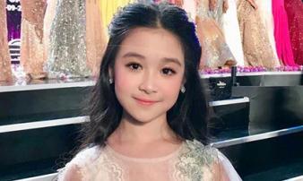 Xuất hiện vài giây tại Hoa hậu Việt Nam 2018, bé gái được dự đoán là Hoa hậu tương lai