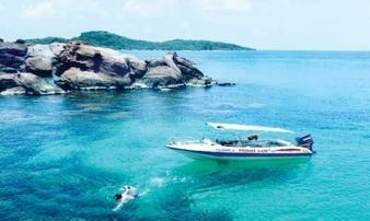 """Đắm chìm ở hòn Móng Tay - """"đảo Robinson"""" của Kiên Giang"""