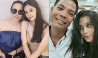 Chuyện ít biết về Hoa hậu Tiểu Vy: Bố từng bệnh nặng, mẹ là trụ cột