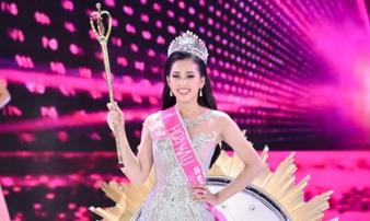 Nữ sinh 18 tuổi Quảng Nam đăng quang Hoa hậu Việt Nam 2018