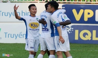 'HAGL giờ phải lo trụ hạng sau trận thua CLB Hà Nội'