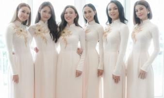 Hoa khôi Lan Khuê tổ chức đám hỏi với dàn phù dâu xinh như tiên nữ