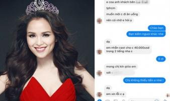 Hoa hậu Diễm Hương: Gương mặt khác lạ và lời mời 'tiếp khách' giá gần 1 tỷ đồng
