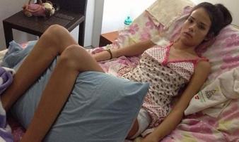 Cô gái bị liệt toàn thân, mất giọng, nguyên nhân là thứ rất quen thuộc với chị em phụ nữ