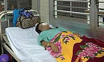 Đánh mù mắt bé gái 15 tuổi để giở trò đồi bại trong nghĩa trang