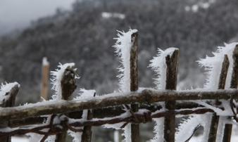 Mùa đông 2018 lạnh nhất trong 5 năm gần đây, băng tuyết xuất hiện