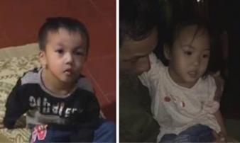 """2 cháu bé bị bỏ ở chùa cùng lá thư """"nhờ nuôi giúp"""""""