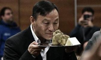 Đại gia bí ẩn chịu chơi: Chi hơn 2 tỷ đồng mua cục nấm chưa đến 1kg