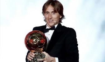 Trao giải Quả bóng Vàng: Modric và Mbappe được vinh danh