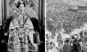 Ảnh hiếm trong tang lễ Từ Hi Thái hậu qua ống kính phóng viên Hà Lan: Xa hoa bậc nhất, đoàn người đưa tiễn dài vô tận