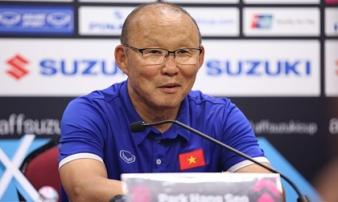 HLV Park Hang Seo nói gì khi Việt Nam để Malaysia gỡ hòa?
