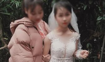 Xôn xao hình ảnh cô dâu nhí 14 tuổi ở Sơn La