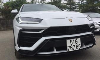 Đại gia Minh 'nhựa' lại chơi trội: Siêu xe triệu USD, biển số siêu đẹp