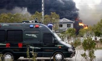 Nổ nhà máy hóa chất Trung Quốc: Thương vong lên tới gần 700 người