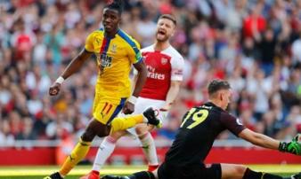 Thua sốc Palace, Arsenal lỡ cơ hội bứt phá