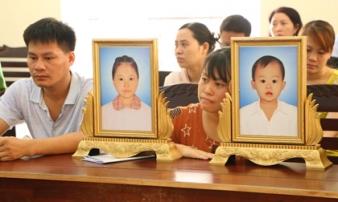 Đề nghị hơn 10 năm tù cho tài xế tông 2 bé gái tử vong