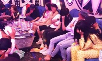 Phát hiện 70 người dương tính với ma túy tại một quán karaoke