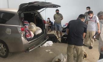 Hơn nửa tấn ma tuý đá của người Đài Loan bị bắt ở Sài Gòn