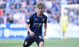 Công Phượng là tân binh được ra sân thuộc top đầu ở Incheon United