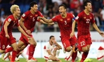 ĐT Việt Nam vào thẳng vòng 2 vòng sơ loại World Cup 2022 khu vực châu Á
