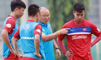 Tiết lộ câu nói chân thành của HLV Park Hang-seo với các cầu thủ sau King's Cup