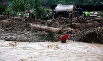 Tìm thấy 1 thi thể công nhân mất tích do lũ cuốn ở Lai Châu