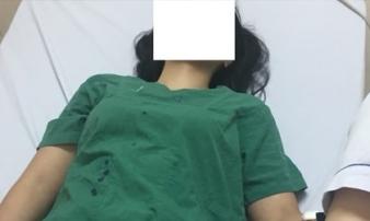Nữ bác sĩ sản khoa bị người nhà bệnh nhân đấm bầm mặt tại bệnh viện