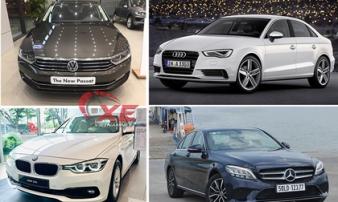 Những mẫu xe sang của Đức rẻ nhất thị trường Việt