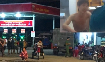 Vụ nhân viên cây xăng bị đâm tử vong: Nhân chứng 'tưởng đang đùa giỡn'