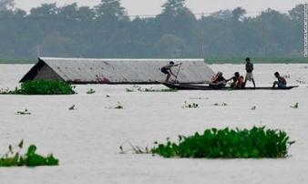 Thảm họa lũ quét ở Nam Á, hàng triệu người chết và bị ảnh hưởng