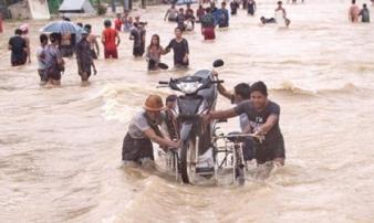 Lũ lụt tại Myanmar: 59 người thiệt mạng do lở đất