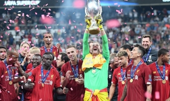 Liverpool 2-2 (pen 5-4) Chelsea: Thắng nghẹt thở trên loạt đấu súng, Liverpool đoạt Siêu cúp châu Âu