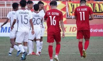 U18 Việt Nam thất bại, lo khoảng trống sau lưng thầy Park