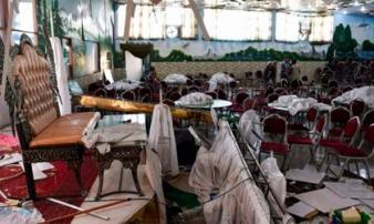 Nóng: Đánh bom tự sát vào đám cưới, người chết la liệt giữa các bàn tiệc