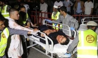 Tin mới chấn động vụ đánh bom tự sát tại đám cưới ở Afghanistan