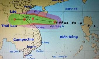 Áp thấp sắp thành bão cách Hoàng Sa 740km, những thành phố nào có thể ngập lụt?