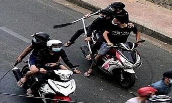 Nhóm thanh niên thực hiện hàng loạt vụ cướp bằng dao tự chế