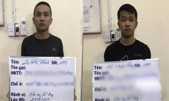 Công an TP HCM bắt 2 đối tượng cho vay 'cắt cổ'