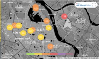 Không khí Hà Nội những ngày này đang bị ô nhiễm nặng, người dân đối mặt với những hiểm nguy nào?