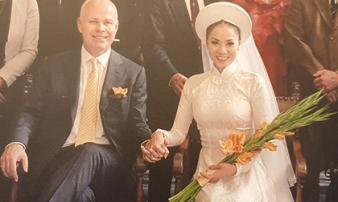 Ca sĩ Thu Minh lần đầu công khai ảnh cưới