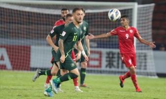 Hòa Bahrain 1-1, U23 Australia vào tứ kết châu Á cùng Thái Lan