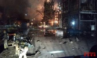 Nổ nhà máy hóa chất tại Tây Ban Nha gây nhiều thương vong